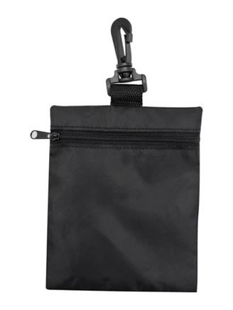 Zip Pouch with Safety Clip