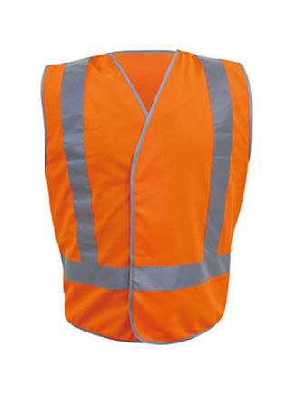 Hi-Vis Safety Vest with Reflective Tape
